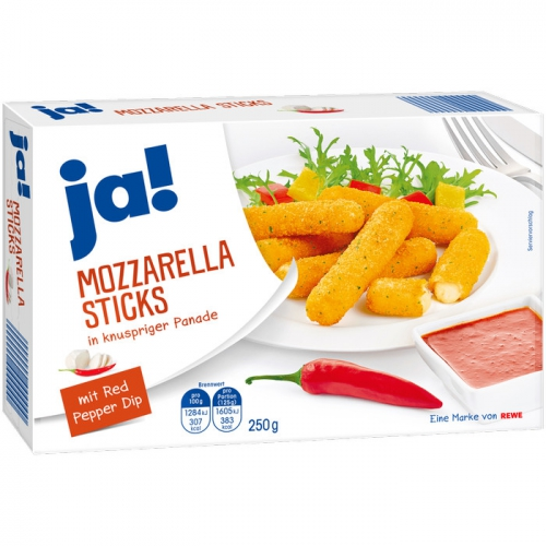 Mozzarella-Sticks, M�rz 2017