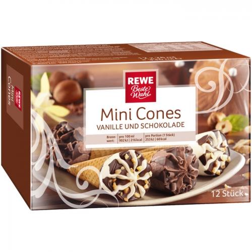 Mini Cones - Waffeleis, M�rz 2017