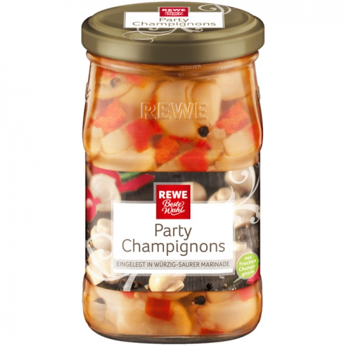 Party-Champignons, M�rz 2017