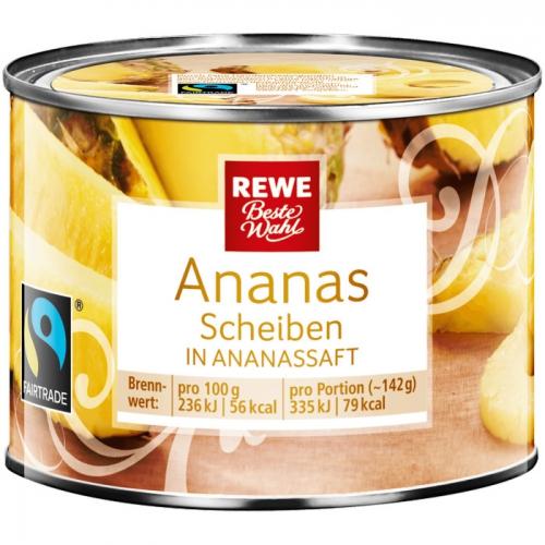 Ananas-Scheiben, November 2017