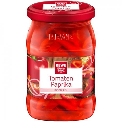 Tomatenpaprika in Streifen, M�rz 2017