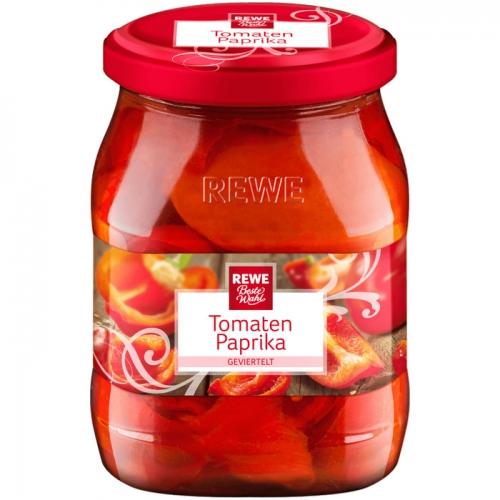 Tomatenpaprika geviertelt, M�rz 2017