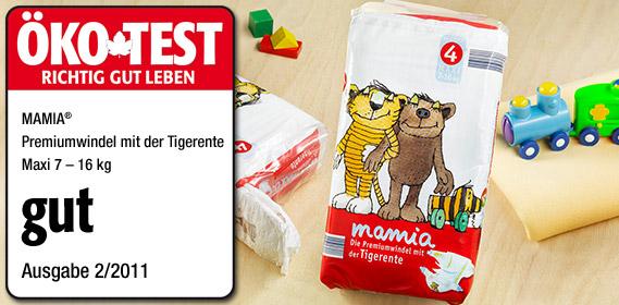 Premium-Windeln, Maxi 4, Februar 2011