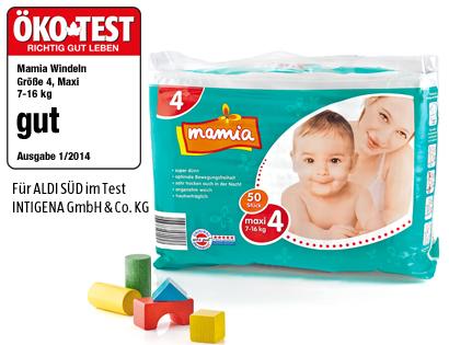 Premium-Windeln, Maxi 4, Februar 2014