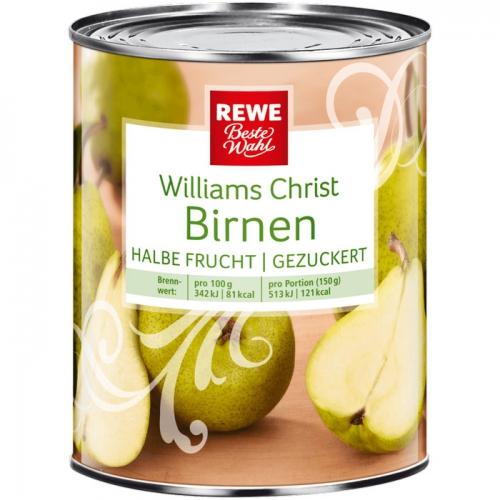 Williams-Christ-Birnen, M�rz 2017