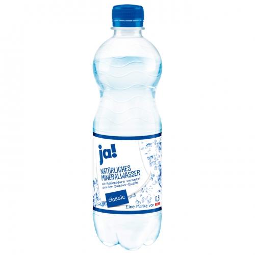Mineralwasser Classic 0,5l, Februar 2017