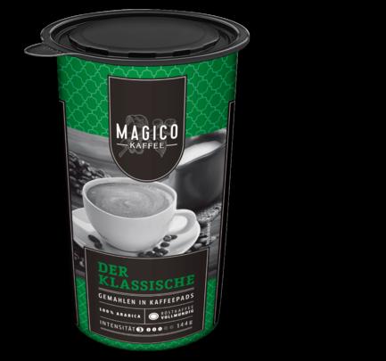 Kaffeepads 'Der Klassische', Januar 2018