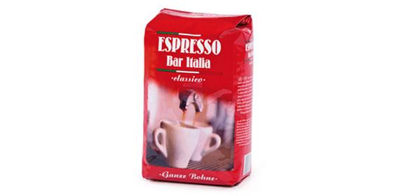 Espresso classico, ganze Bohne , Februar 2013