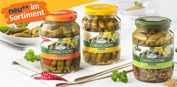 Cornichons, Premium, Oktober 2010
