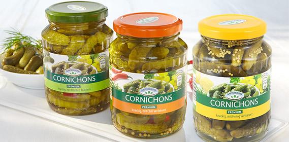 Cornichons, Premium, April 2012
