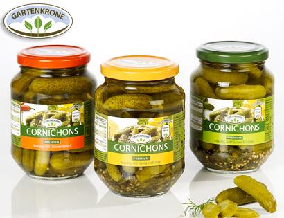 Cornichons, Premium, Juni 2014