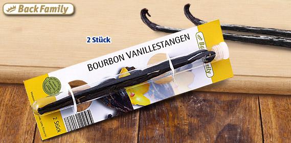 Bourbon Vanillestangen, 2er, Oktober 2011