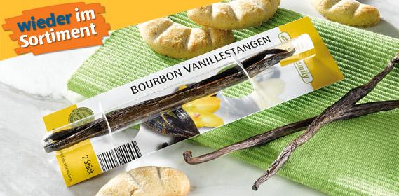 Bourbon Vanillestangen, 2er, Dezember 2011