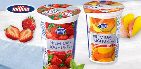 Premium-Joghurt, Mild, Juni 2011