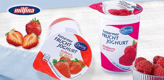 Fettarmer Fruchtjoghurt, Juni 2011