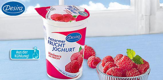 Fettarmer Fruchtjoghurt, April 2012