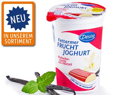 Fettarmer Fruchtjoghurt, August 2013