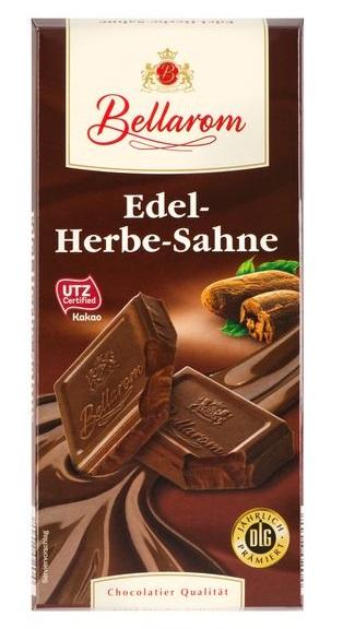 Edel-Herb-Sahne Schokolade, September 2017