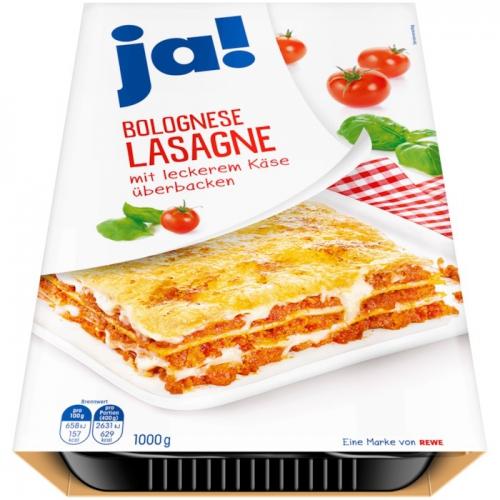 Lasagne Bolognese, Januar 2018