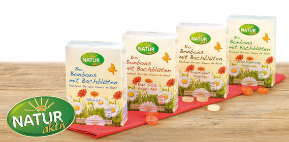 Bio-Bonbons mit Bachblüten, M�rz 2012