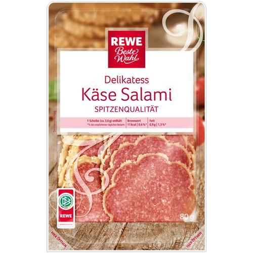 Delikatess-Käse-Salami, Dezember 2016