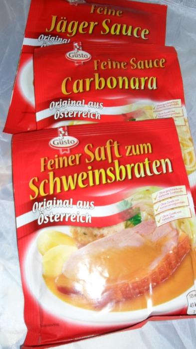 Feinschmecker-Sauce, Juni 2012