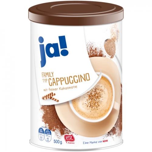 Family Cappuccino, Januar 2018