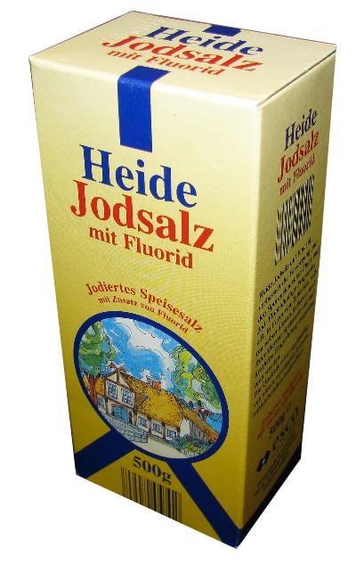 Jodsalz mit Fluorid, August 2008
