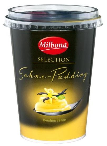 Sahne Pudding Bourbon-Vanille, Juli 2017