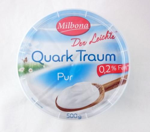 Quark Traum, 0,2% Fett, Oktober 2017