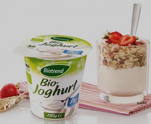 Joghurt, pur, 3,5% Fett, Februar 2015