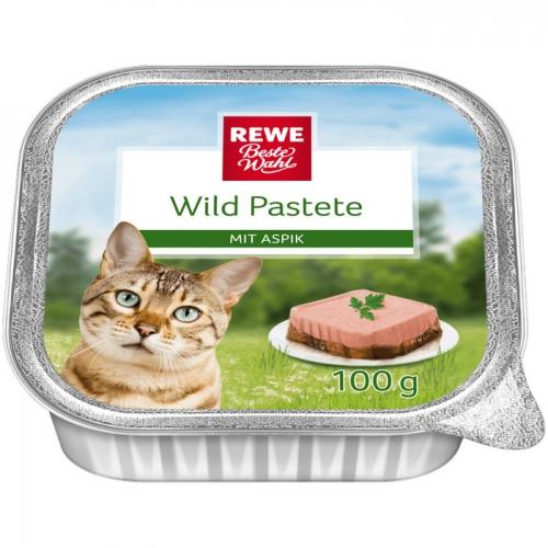Katzen-Nassfutter Wildpastete auf Aspik, M�rz 2017