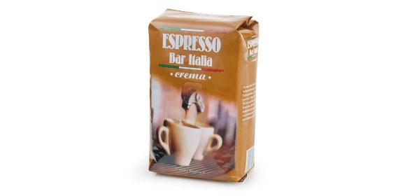 Espresso crema, ganze Bohne , Oktober 2013