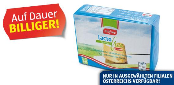 Laktosefreie Butter, Mai 2012