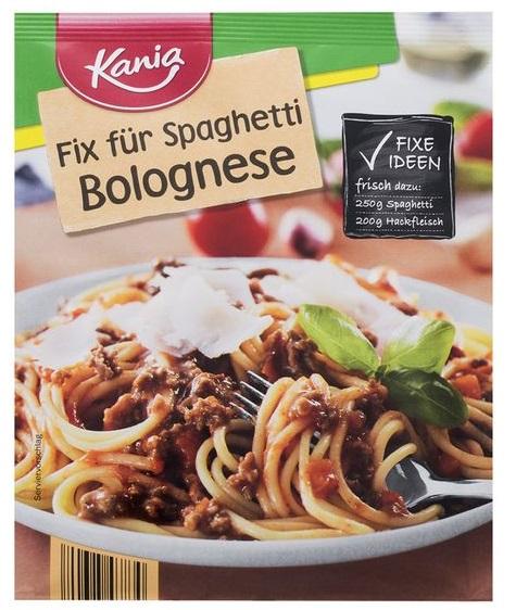 Fix für Spaghetti Bolognese, Juni 2017