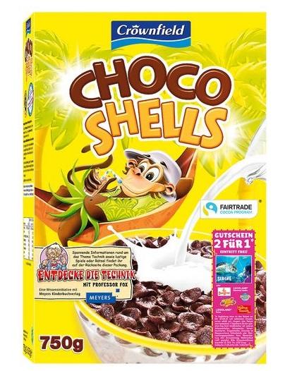 Choco Shells, Juli 2017