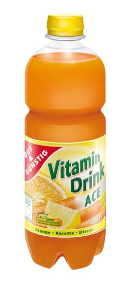 Vitamindrink ACE, Januar 2018