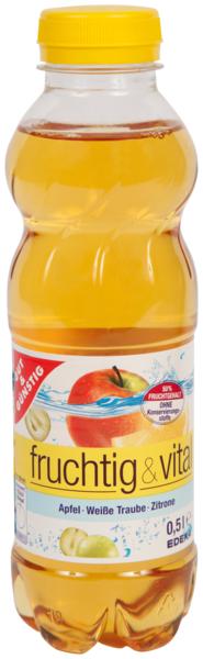 fruchtig & vital Apfel Traube Zitrone, Dezember 2017