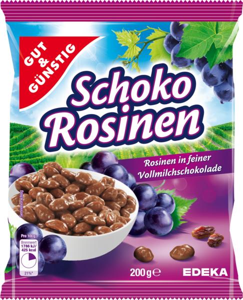 Schoko-Rosinen, Januar 2018