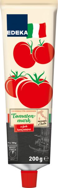 Tomatenmark, 3-fach konzentriert, Tube, Januar 2018