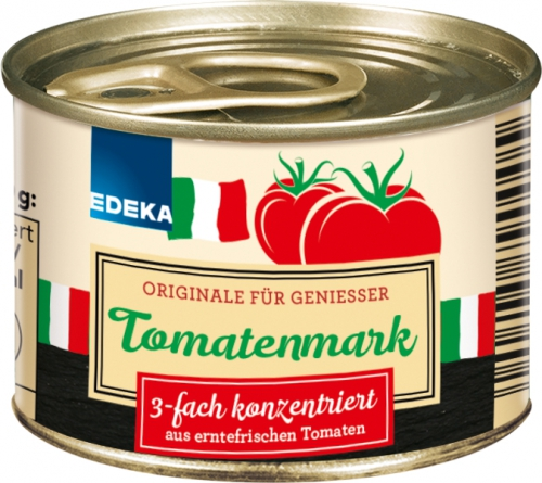 Tomatenmark, 3-fach konzentriert, Januar 2018