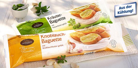 Baguette, gefüllt, Juli 2011