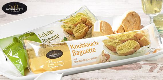 Baguette, gefüllt, April 2012