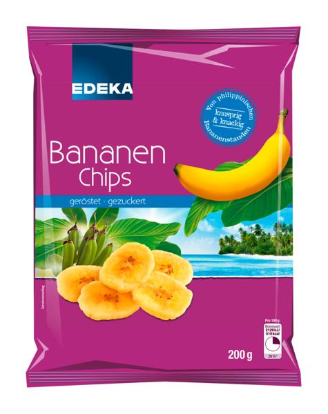 Bananenchips, Januar 2018