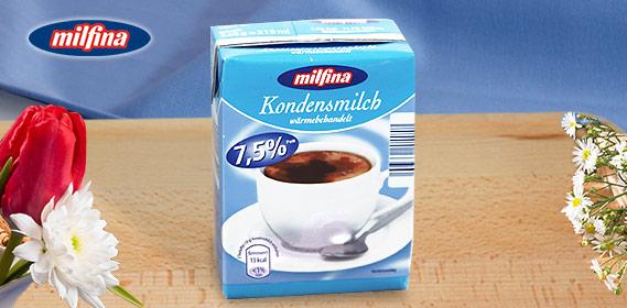 Kondensmilch, 7,5% Fett, M�rz 2011