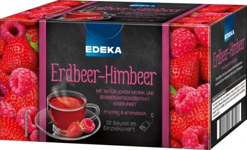 Erdbeer-Himbeer-Tee, Januar 2018