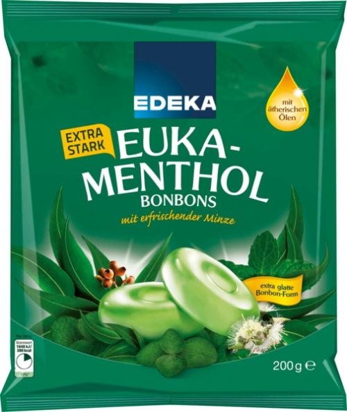 Euka-Menthol Bonbons, Januar 2018