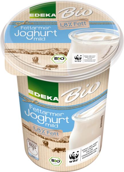 Fettarmer Joghurt 1,8 % Fett, mild, Januar 2018