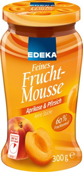 Feines Fruchtmousse Aprikose & Pfirsich, Dezember 2017