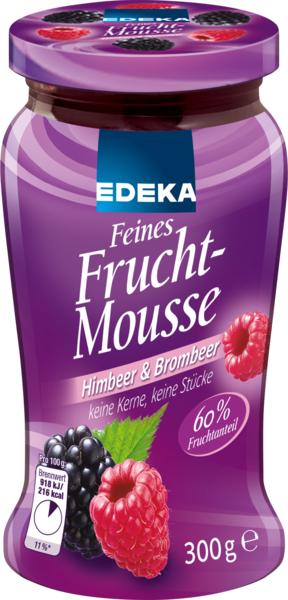 Feines Fruchtmousse Himbeer & Brombeer, Dezember 2017